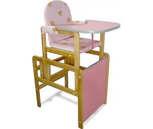 стульчик для кормления карапуз стол стул детский деревянный