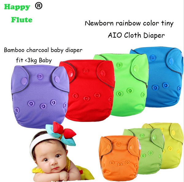 Многоразовые подгузники Aliexpress HappyFlute Newborn Cloth Diaper  Halloween  Christmas Baby Diaper Reusable Baby Nappy Washable fit 3kg baby  - отзывы 3fd039e3d96