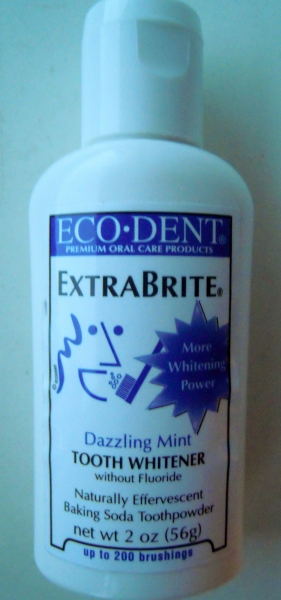 бережный порошок eco dent для отбеливания зубов