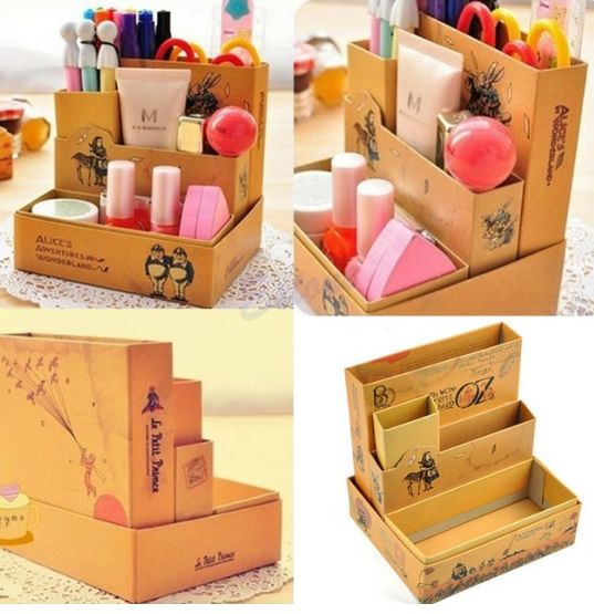 Коробочки своими руками из картона для мелочей