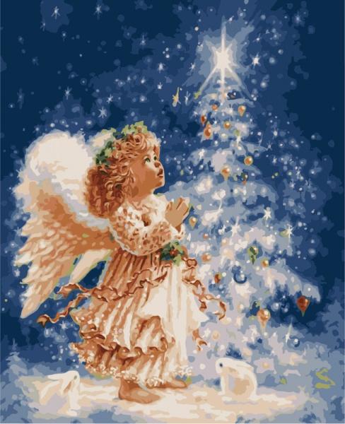 картинки ангел рождественский