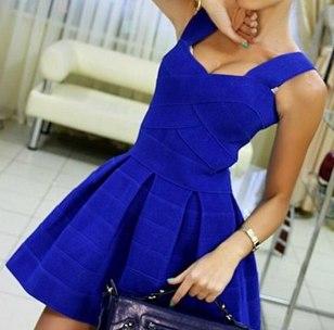 Платье бандажное с алиэкспресс