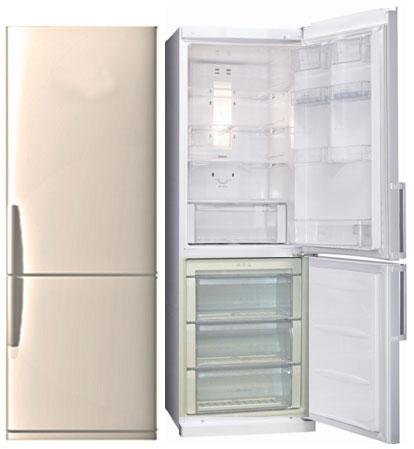 двухкамерный холодильник Lg Ga B409ueca с нижней морозильной камерой