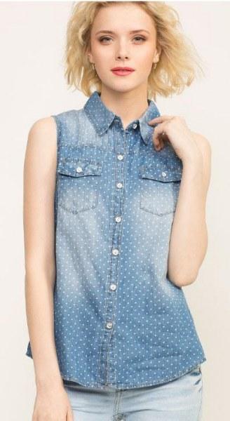 d029c121ec1 Джинсовая рубашка Gloria Jeans GSR001311 - «Джинсовая рубашка без ...