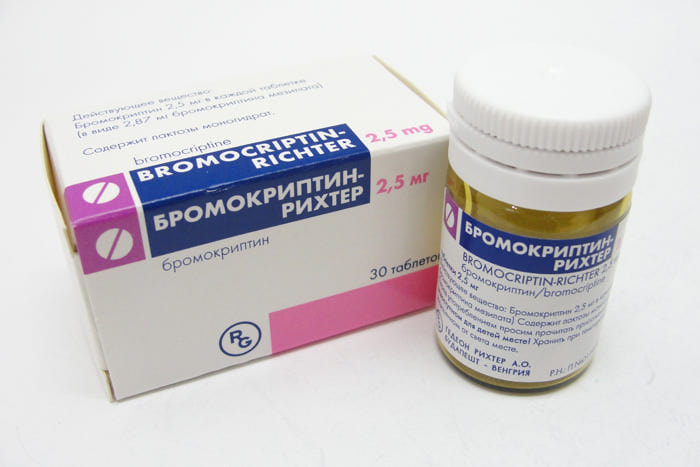 Гормональные препараты Gedeon Richter Бромокриптин-Рихтер | Отзывы ...