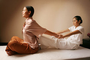Тайка масляный массаж