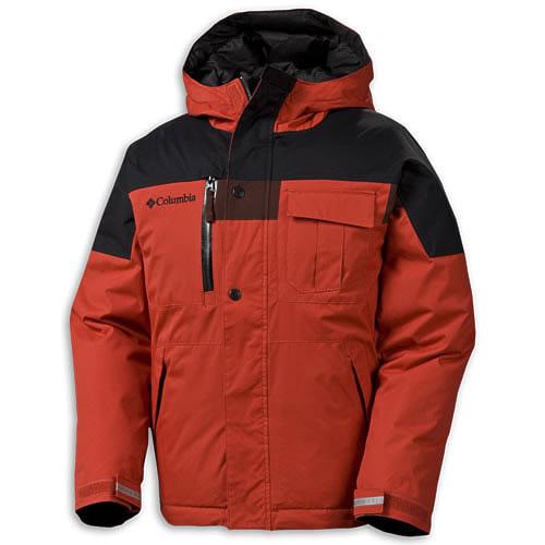 Куртка Columbia PETON PEAK JACKET детская двусторонняя для мальчиков фото d616f07132584