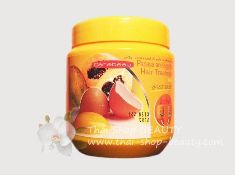 Тайская яичная маска для волос
