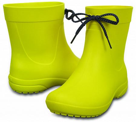 d4a0452fab1a Резиновые сапоги CROCS Women's Freesail Shorty Rain Boots - «Солнце ...