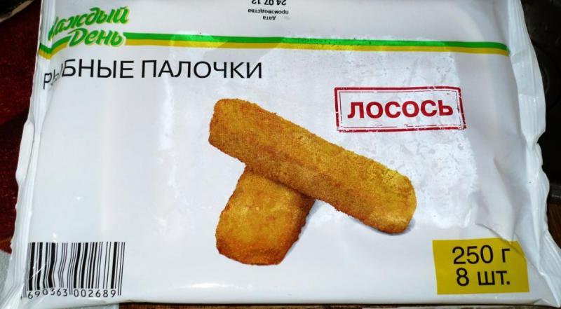 Рыбные палочки замороженные как жарить