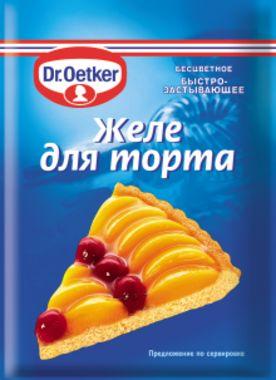 Желе для торта dr oetker инструкция