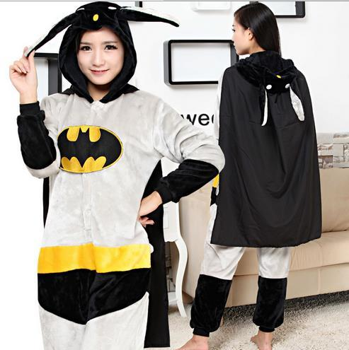 Пижама AliExpress Кигуруми Бэтмен Batman mascots jumpsuits Halloween  Costume costumes for men women Pooh Kigurumi Pajamas Animal Suits Cosplay  Outfit Adult ... 1bf246d61a74d