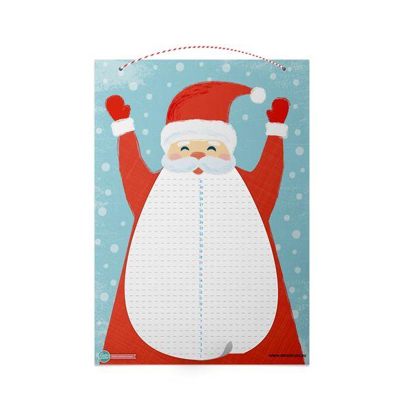 Картинки по запросу адвент календарь дед мороз