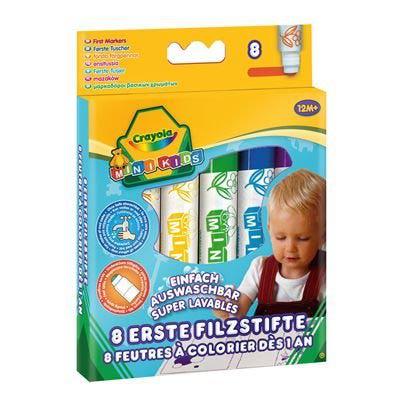 crayola детские фломастеры: