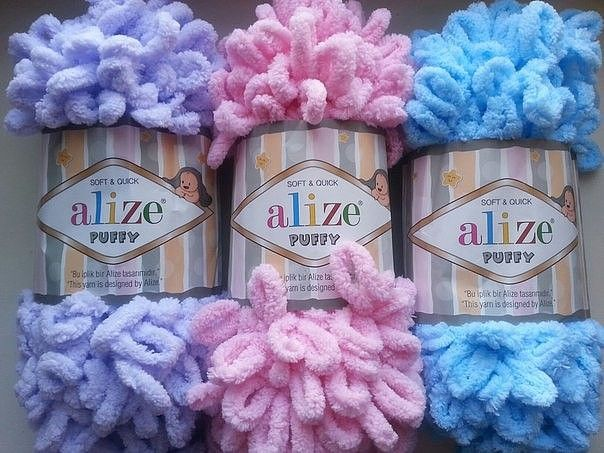пряжа Alize Puffy отзывы покупателей