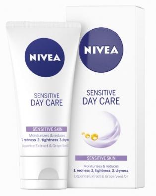 nivea sensitive day cream review