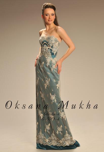 f00a672f764 Вечернее платье Oksana Mukha (Оксана Муха) Селеста-4 фото