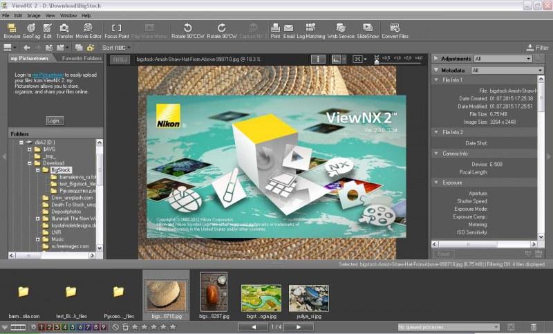 никон программа Viewnx2 на русском языке скачать бесплатно - фото 3