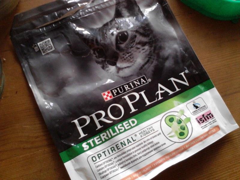 Purina pro plan для стерилизованных котов