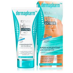 Крем eveline slim extreme 4d professional dermapharm™ крем