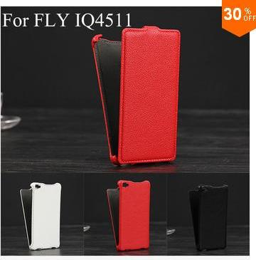 Флип кейс для смартфона Aliexpress Luxury Lichee Pattern flip Leather Case  for Fly IQ4511 Octa Tornado One leather cover color
