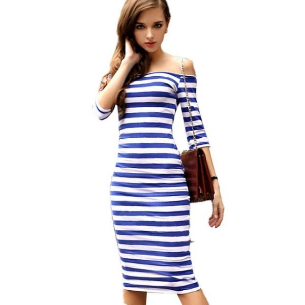 Морское платье 2016