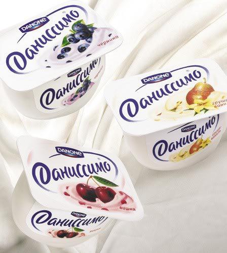 фото йогурт даниссимо
