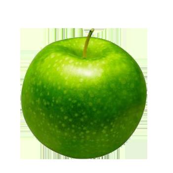 картинка зелёное яблоко