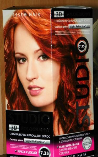 Студио краска для волос отзывы