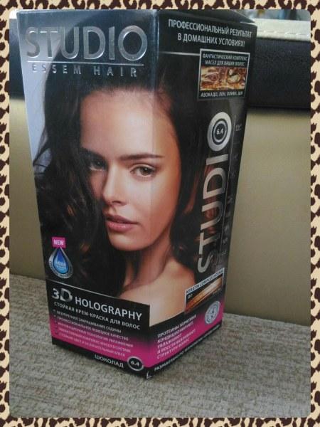 Краска для волос studio 3d holography