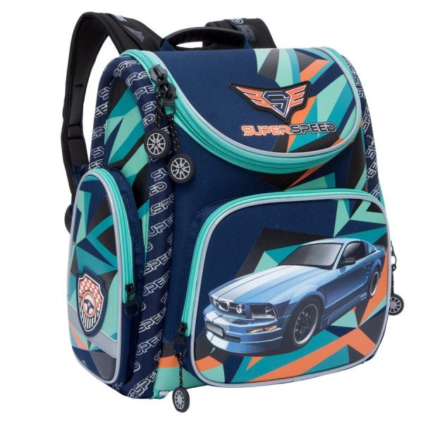 ca7f17fd3a74 Школьный ранец/рюкзак GRIZZLY для мальчика — RA-770-4 | Отзывы ...