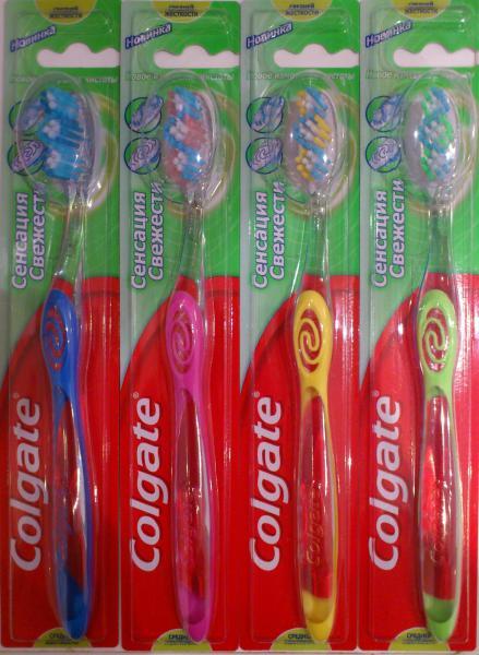 Зубная щетка Colgate Сенсация Свежести - «Экономьте и улыбайтесь ... cf393c9cd64b8