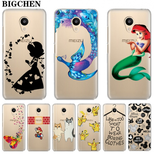 timeless design 2d06c 65e0b Чехол для телефона Aliexpress BIGCHEN Cover Cases For Meizu M3s Mini M5s  M5C M3 M5 M6 Note Soft TPU Silicone Phone Back Cases For ...