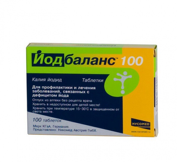 Йодбаланс табл. 0,2 мг уп. 100 никомед австрия гмбх купить, цена.