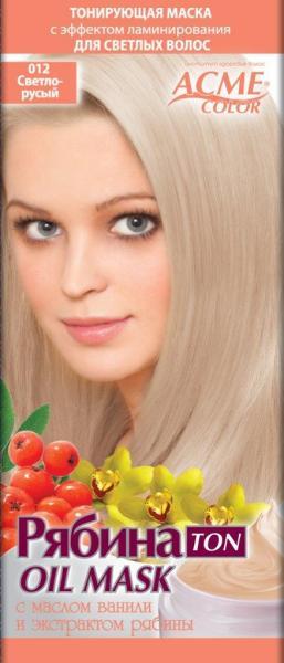 Маска для волос тонирующая рябина