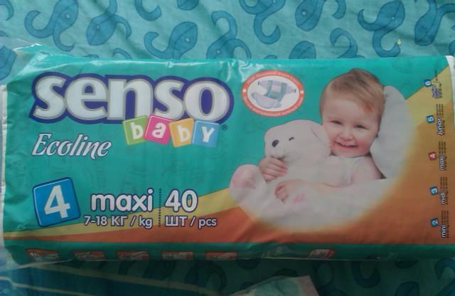 Подгузники Senso baby ecoline   Отзывы покупателей 55955dabc67