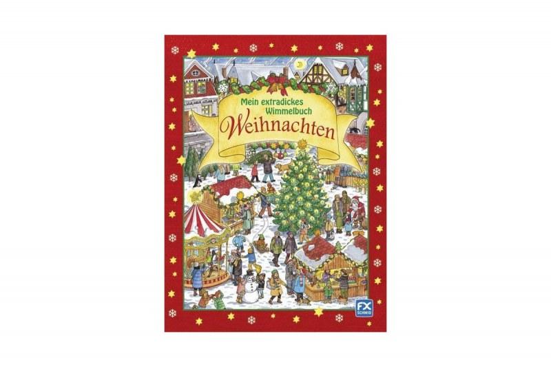 Wimmelbuch Weihnachten.рождественский виммельбух Mein Extradickes Wimmelbuch Weihnachten