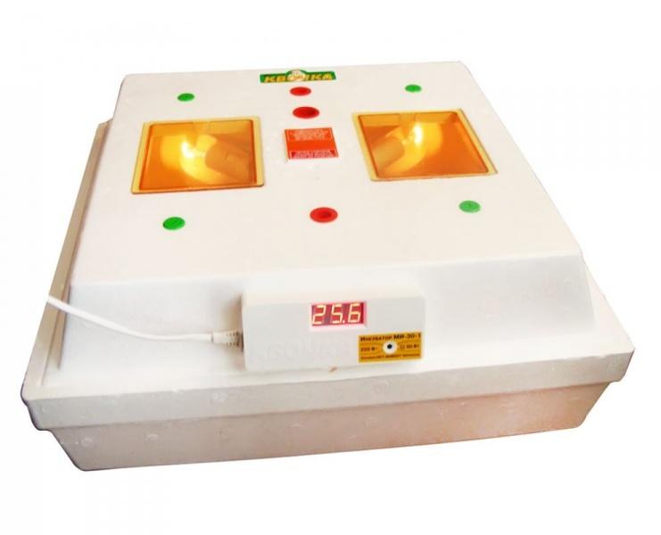 інкубатор квочка ми-30-1 инструкция видео - фото 6