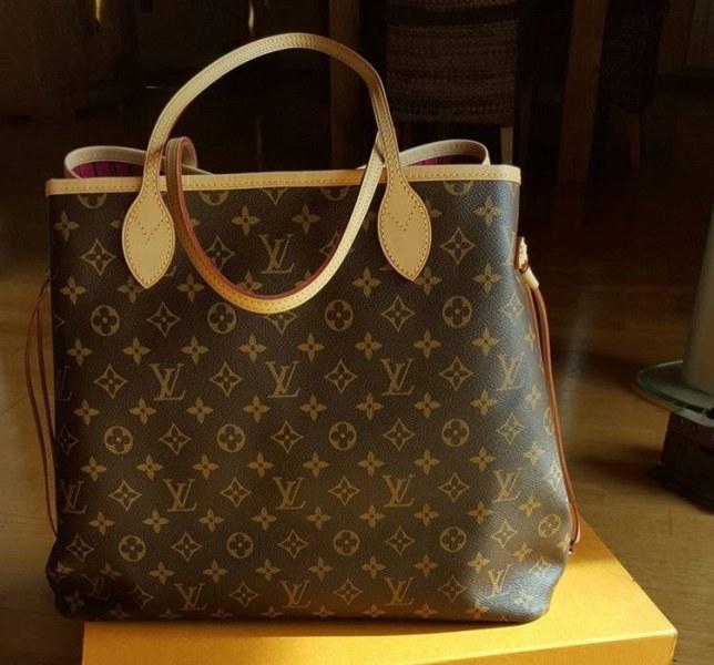 0adbf58f7df9 Сумка Louis Vuitton Neverfull фото · Сумка Louis Vuitton Neverfull фото