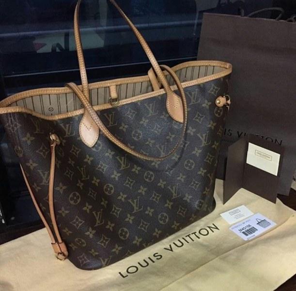 bf18f5af4729 Сумка Louis Vuitton Neverfull | Отзывы покупателей