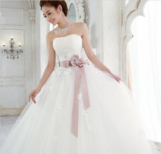 482680eb4fd6080 Свадебное платье AliExpress Exquisite elegant tube top the bride wedding  dress free shipment фото