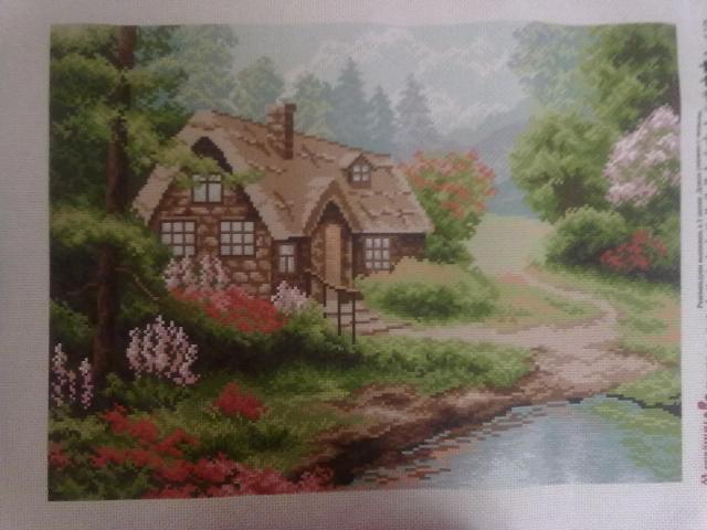 Вышивка матренин посад рисунок на канве купить