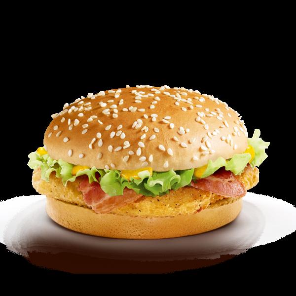 как приготовить гамбургер чикен бекон
