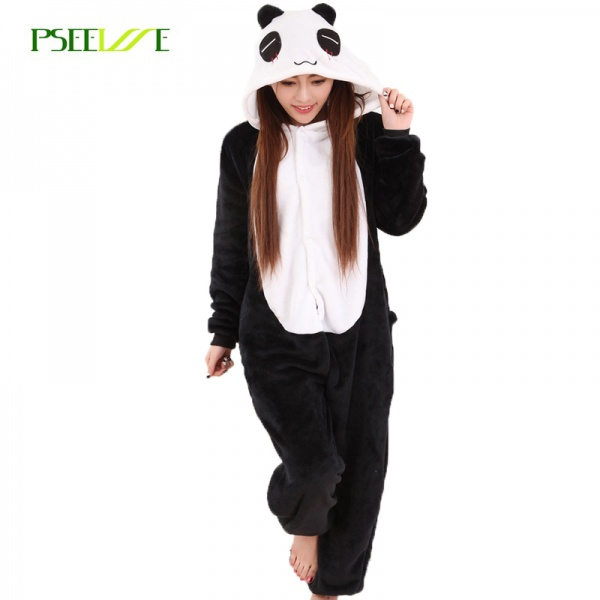 Кигуруми AliExpress Women Pajama Flannel panda Unicorn Cartoon Cosplay  Adult Onesie For Adults Animal Pajamas Adult Unicorn Pajamas Winter Onesie  - отзывы 71f1c1bf31ad9