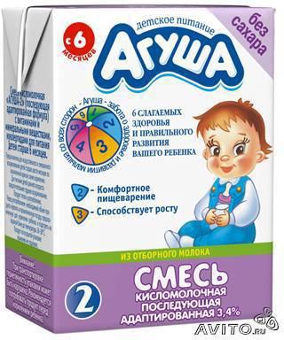 фото продукта кисломолочная агуша