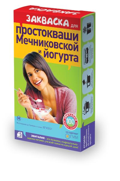 как приготовить эвиталия закваска