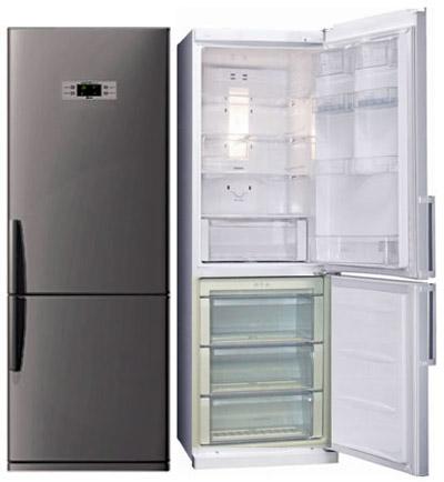 двухкамерные современные холодильники