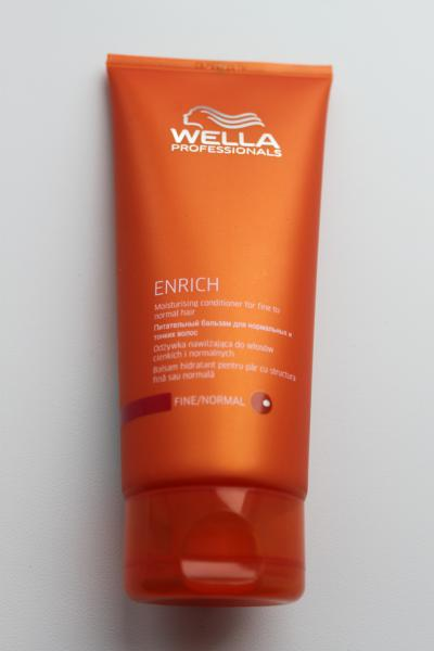 Wella enrich бальзам для жестких волос отзывы