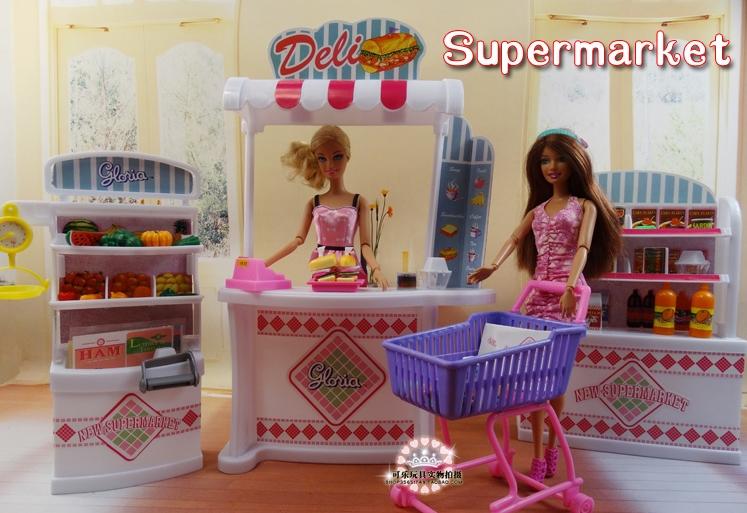 Aliexpress Supermarket Dlya Kukol Dollhouse Furniture Supermarket