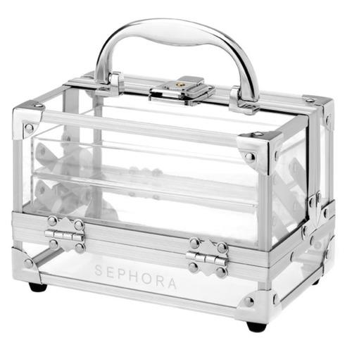 Купить прозрачный чемоданчик для косметики косметика essence купить в интернет магазине